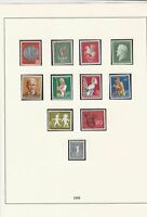 germany 1958 mint stamps page ref 17726