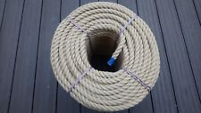 12mm Synthetic Hemp Rope - Polyhemp - Garden Rope - By The Metre