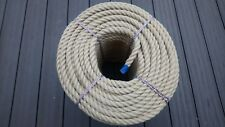 14mm Synthetic Hemp Rope - Polyhemp - Garden Rope - By The Metre