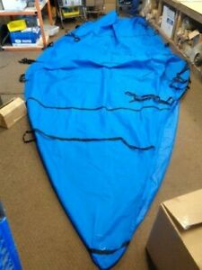 """ATTWOOD BOATERS BEST 20' TOURNAMENT SKI COVER W / STRAPS 242"""" X 104"""" MARINE BOAT"""