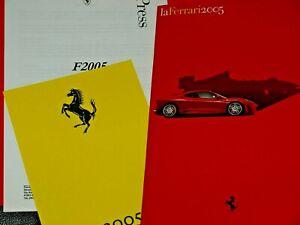 FERRARI PRESS PACK F2005 LA FERRARI RORY BYRNE BRAWN F1 MICHAEL SCHUMACHER