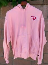 FaZe Clan x Champion - Pink Awareness Hoodie SIZE L Large Pre-Owned Men's