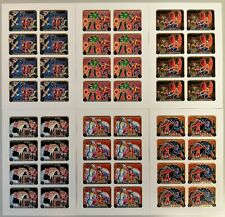 O802. Ajman - MNH - Art - Paintings - Full Sheet - Imperf - Wholesale