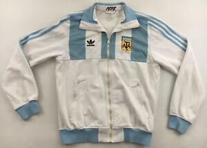 Argentina 1978 Adidas Originals tracksuit top jacket vintage soccer 1970s M