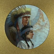 America's Indian Heritage THE ARAPAHO NATION Plate #2 Native American Perillo