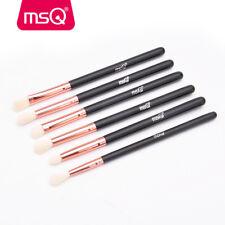 MSQ 6PCs Professional Eye Makeup Brushes Set Powder Eyeshadow Brow Pencil Brush