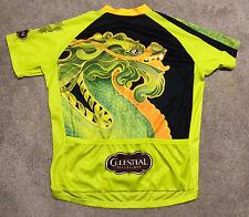 Primal Celestial Seasonings Dragon Men's Cycling Jersey Tea Zinger XXL 3/4 Zip