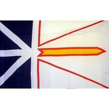 Newfoundland flag Banner Sign 3' x 5 Foot  Polyester Grommets