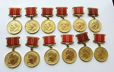 soviet ussr medals for valiant labor
