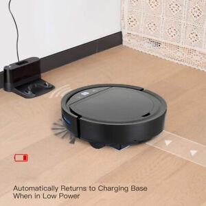 Auto Charging Smart Vacuum Robot Cleaner App Control Support for Alexa Google