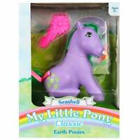 My Little Pony SEASHELL - 35th Anniversary 1980s G1 MLP Retro Earth Comb Box