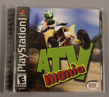 ATV Mania/Sports Car GT/IHRA Drag Racing Lot PS1 Games TM8