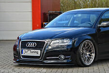 Spoilerschwert Frontspoiler Lippe Cuplippe aus ABS Audi A3 8PA Facelift mit ABE