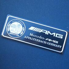 1X Car Sticker Emblem Aluminum Trunk Rear Badge Fit for Mercedes-Benz AMG