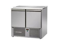 Tavola calda secca gastronomia tavolo di raffreddamento SALADETTE 900 con 2 porte gastlando