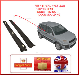Fits Ford Fusion OSR Drivers Side Rear Door Trim Panel Plastic Cover