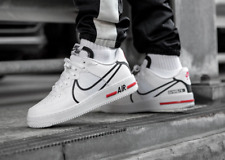 nike air force 1 react bianche