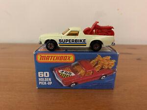 Matchbox Superfast 60 Holden Ute Pick Up