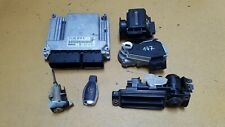 MERCEDES W211 E220 CDI 646.961 2002-2006 ENGINE AUTO ECU KEY LOCK SET 6461506491