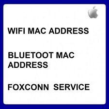 APPLE BLUETOOTH & WIFI MAC ADDRESS CHECK VIA IMEI - FOXCONN