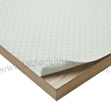 TABLE PROTECTOR PADDED COVER TABLECLOTH 1.4m ROUND