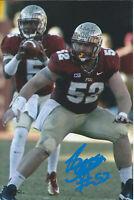 Bryan Stork Signed 4x6 Photo Florida St. Seminoles NCAA New England Patriots