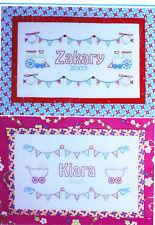 PATTERN - Baby Bunting - pretty stitchery PATTERN - Sew Little