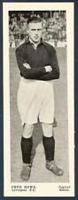 TOPICAL TIMES-PANEL PORTRAITS OF FOOTBALL STARS-1937-LIVERPOOL-FRED HOWE