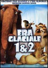 L' ERA GLACIALE 1 & 2 box 2 DVD con SLIPCASE