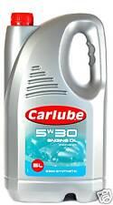 CARLUBE 5W30 SEMI-SYNTHETIC PETROL-DIESEL OIL - 2x 4.5L
