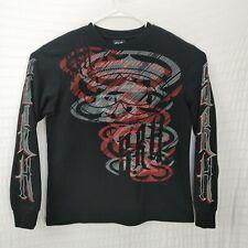SRH Skateboards long sleeve thermal  embroidered Stoners reeking havoc  medium