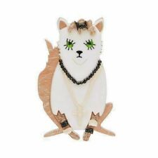 Preach - Madonna Cat. New In Box. Ltd Edition Erstwilder Brooch - Papa Don'T
