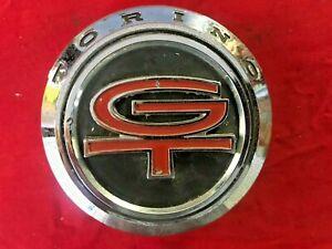 1968 Ford Torino GT OEM Rear Tail Light Panel Emblem ORIGINAL