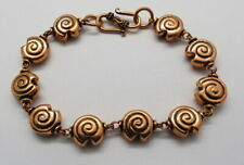"1 Piece Bracelets Chain Copper Beads Snail Beaded Bracelet 8.5"" Long"
