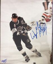 SIGNED Wayne Gretzky 8x10 Photo Los Angeles Kings