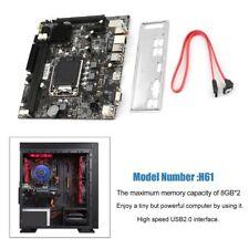 Per Intel H61 LGA Core 1155X 4*DDR3 SCHEDA MADRE PER CPU generazione 2/3 USB2.0N