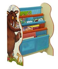 Gruffalo Sling Bookcase Box Kids Childrens Storage Tidy Bedroom Book Case NEW
