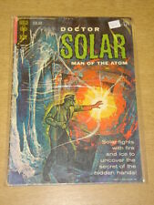 DOCTOR SOLAR MAN OF THE ATOM #3 G+ (2.5) GOLD KEY COMICS MARCH 1963