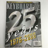 Keyboard Magazine January 2000 The 25th Year Anniversary 1975-2000