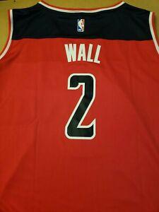 John Wall Washington Wizards AUTHENTIC NBA FANATICS JERSEY ADULT 5XL