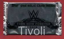 2018 Topps Then Now Forever WWE #d Auto/Relic HOT PACK Shirt/Plate/Mat/Bliss?