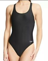 Speedo Pro Lt Super Pro Black One Piece Swimsuit Women's Size 8/34 NEW WITH TAGS