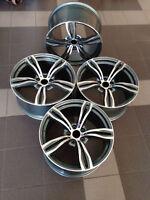 17 inch Alloy wheels fit BMW E38 E60 E61 E63 E65 343 style 5x120 New 4 rims