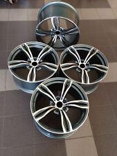 17 Pollici Cerchi In Lega Adatta BMW E38 E39 E60 E61 E63 E65 343 stile 5x120 NUOVA 4 CERCHIONI
