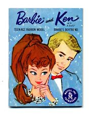 New listing 1962 Mattel Barbie and Ken Doll Fashion Booklet Japan
