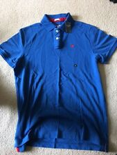 Abercrombie Fitch mens polo usually £45 blue XL extra large