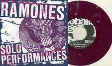 "Ramones-solista dall'interpretazione 7"" Blue Sleeve/Purple splatter Johnny Dee Dee Marky"