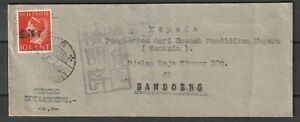 Dutch Indies Japan Occupation KOTAGOENG used on censor cover