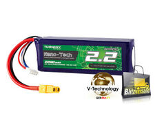 NEUE 25C-50C Turnigy Nano-Tech 2200mAh 3S Lipo XT60 Blade,T-rex 450 usw. 40 HM72