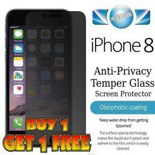 IPHONE 8 (4.7) Premium Confidentialité Protecteur Anti Spy Screen Verre Trempé Mat